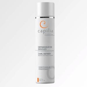 Capilia Conditionneur Définisseur de boucles est une formule brillance et souplesse pour cheveux bouclés.